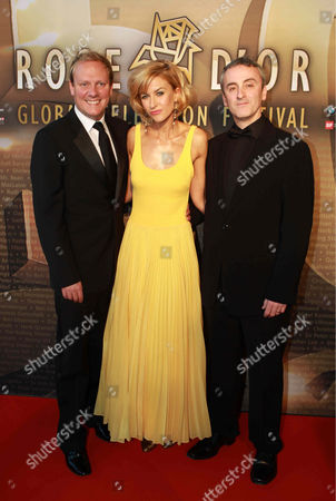 Stock Picture of Antony Cotton, Katherine Kelly and Kieran Roberts