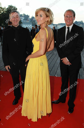 Kieran Roberts, Katherine Kelly and Antony Cotton