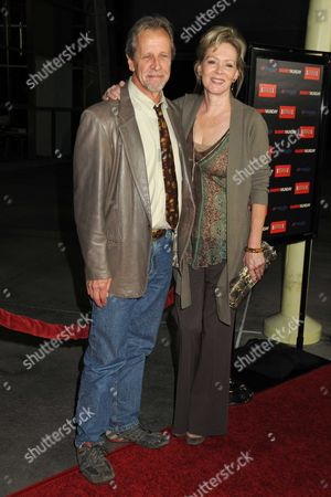 Stock Photo of Jean Smart and husband Richard Gilliland