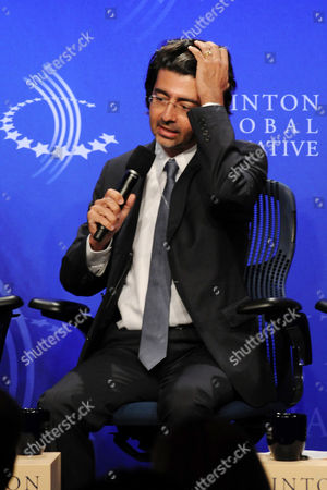 Editorial picture of Clinton Global Initiative, New York, America - 23 Sep 2010