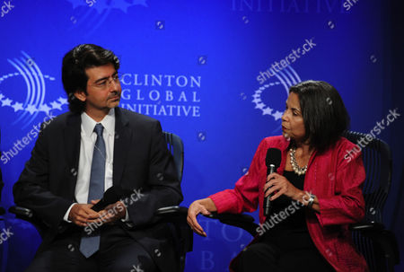 Editorial photo of Clinton Global Initiative, New York, America - 23 Sep 2010