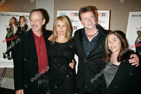 Mark Blum, Rosanna Arquette, Aidan Quin and Susan Seidelman