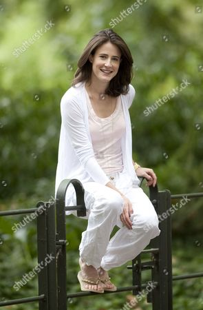 Editorial photo of Xanthe Elbrick in Battersea Park, London, Britain - 29 Jul 2010