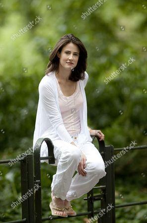 Editorial image of Xanthe Elbrick in Battersea Park, London, Britain - 29 Jul 2010