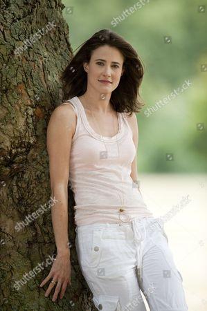 Editorial picture of Xanthe Elbrick in Battersea Park, London, Britain - 29 Jul 2010