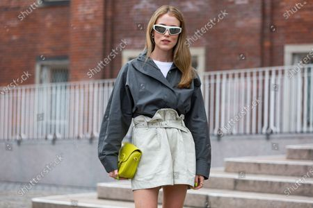 Editorial picture of Street Style, Spring Summer 2022, Copenhagen Fashion Week, Denmark - 12 Aug 2021