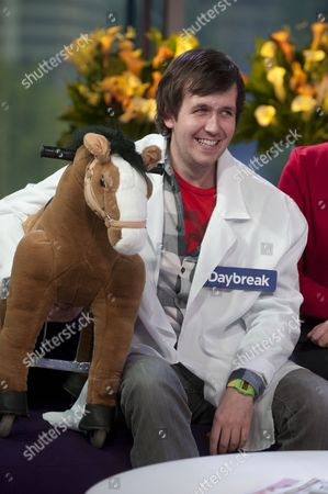 Editorial picture of 'Daybreak' TV Programme, London, Britain. - 24 Sep 2010