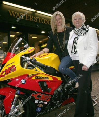 Maria Costello MBE with her Mum Eileen
