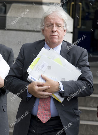 Editorial image of Dave Hartnett, The head of HM Revenue and Customs leaving the Treasury Select Committee meeting, Portcullis House, London, Britain  - 15 Sep 2010