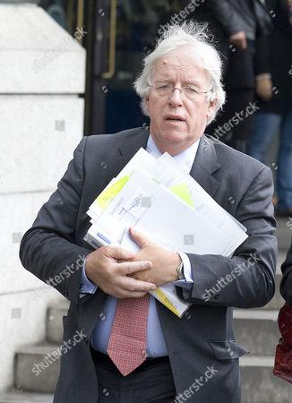 Stock Photo of Dave Hartnett, head of HM Revenue and Customs (HMRC)