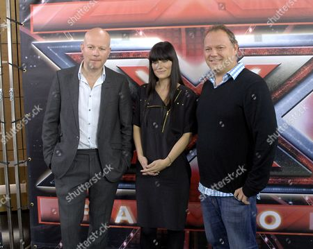 Editorial photo of Danish 'X Factor' TV Programme press conference, Copenhagen, Denmark - 24 Sep 2010