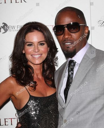 Betsy Russell, Jamie Foxx.