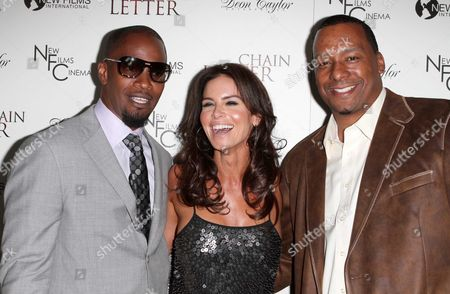 Jamie Foxx, Betsy Russell, Deon Taylor.
