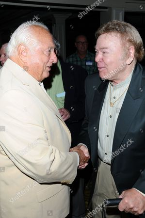 Stock Image of Tommy Lasorda and Roy Clark