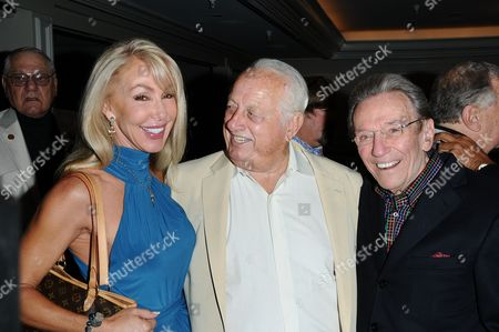 Linda Thompson, Tommy Lasorda and Norm Crosby