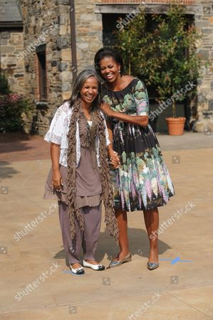Editorial picture of Michelle Obama hosts First Lady's luncheon, Pocantico Hills, New York, America - 24 Sep 2010