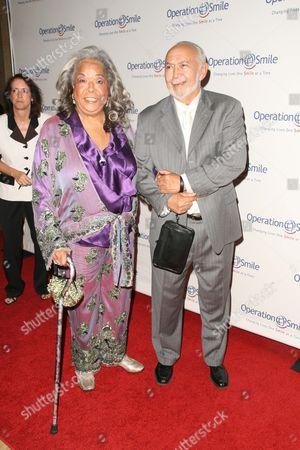 Stock Photo of Della Reese and Franklin Lett