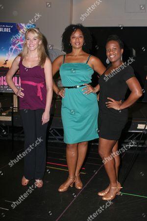 Ashley Spencer, Jacqueline Arnold, Anastacia McCleskey