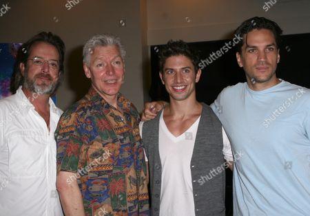 Stock Photo of C David Johnson, Tony Sheldon, Nick Adams, Will Swenson