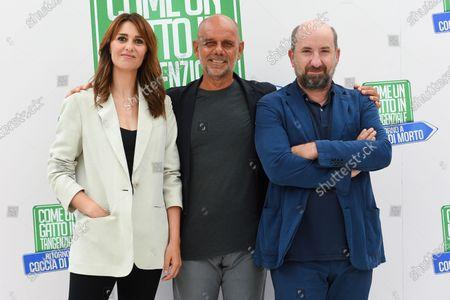 Editorial picture of 'Come un gatto in tangenziale 2' film photocall, Rome, Italy - 13 Aug 2021