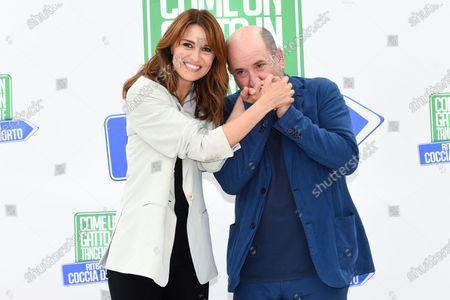 Paola Cortellesi and Antonio Albanese