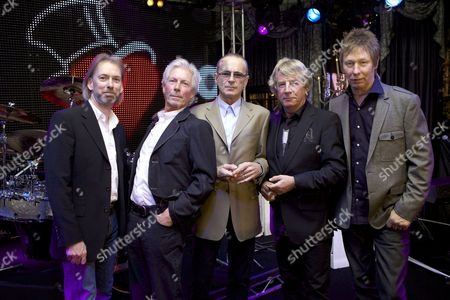Editorial photo of Status Quo at the Dorchester Hotel, London, Britain - 23 Sep 2010