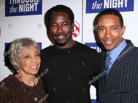 Ruby Dee, Daniel Beaty, Charles Randolph Wright