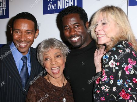Charles Randolph Wright, Ruby Dee, Daniel Beaty, Judith Light