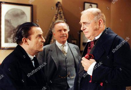 The Dying Detective -   Jeremy Brett as Sherlock Holmes, Edward Hardwicke as Doctor Watson and Roy Hudd as John Gedgrave.