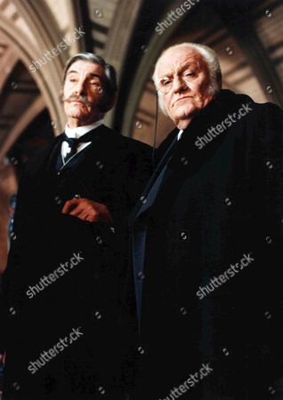 The Mazarin Stone -  Charles Gray as Mycroft Holmes and James Villiers as Lord Cantlemere