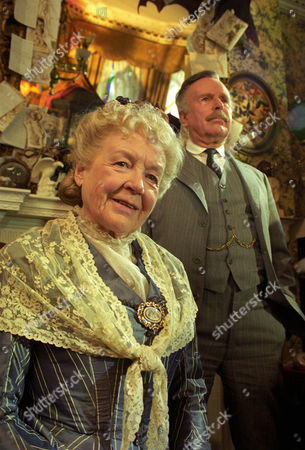 The Mazarin Stone -  Phyllis Calvert as Agnes Garrideb and Edward Hardwicke as Doctor Watson.