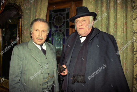 The Mazarin Stone -  Edward Hardwicke as Doctor Watson and Charles Gray as Mycroft Holmes.