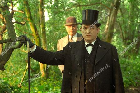 The Three Gables -  Edward Hardwicke as Doctor Watson and Jeremy Brett as Sherlock Holmes.