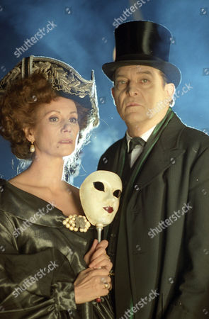 The Three Gables -  Claudine Auger as Isadora Klein and Jeremy Brett as Sherlock Holmes.