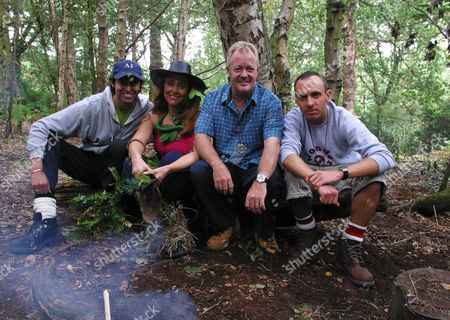Celebrity Survivor - Tina Baker, Keith Chegwin, Mark Heyes and Armand Beasley.