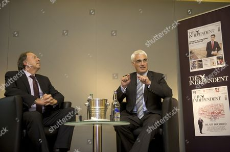 Alistair Darling in conversation with Steve Richards