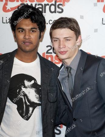 Himesh Patel and Charlie G Hawkins