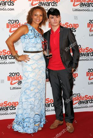 Stock Picture of Angela Griffin and William Rush