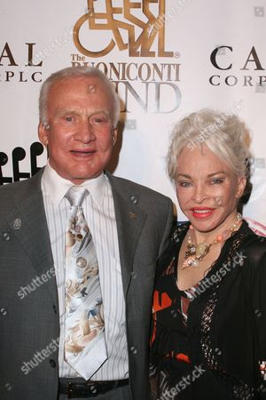 Buzz Aldrin and wife Lois Aldrin