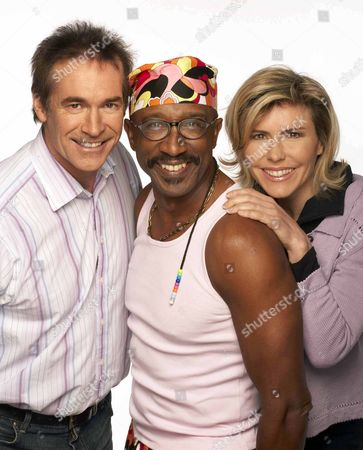 Motivate Britain - Mr. Motivator Derrick Evans, Dr. Hilary Jones and Amanda Ursell.