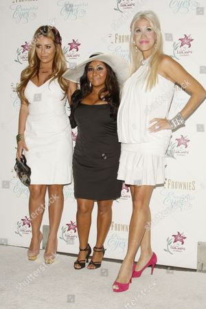 Editorial image of 'Beautiful Eyes' by Frownies Launch, Hosted by Snooki, Los Angeles, America - 27 Sep 2010