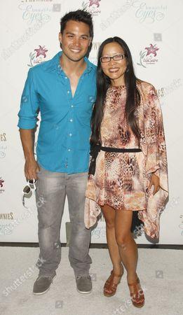 Michael Copon and Joyce Chow