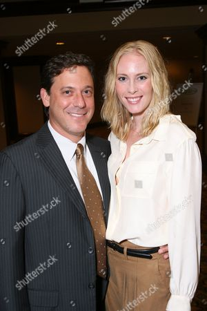 Stock Picture of Adam and Hillary Fogelson