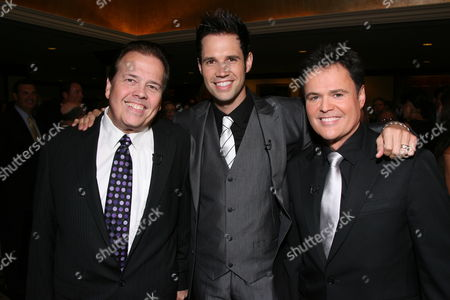 Alan, David and Donny Osmond