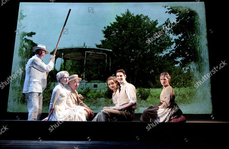 'Birdsong' - Nicholas Farrell (Rene Azaire), Genevieve O'Reilly (Isabelle Azaire), Iain Mitchell (Berard), Florence Hall (Lisette Azaire), Ben Barnes (Stephen Wraysford) and Annabel Topham (Marguerite)