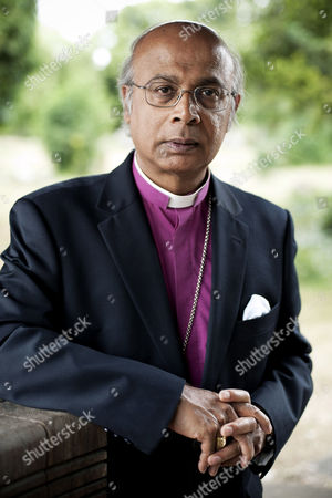 Stock Image of Bishop Michael Nazir-Ali who was formerly the Bishop of Rochester