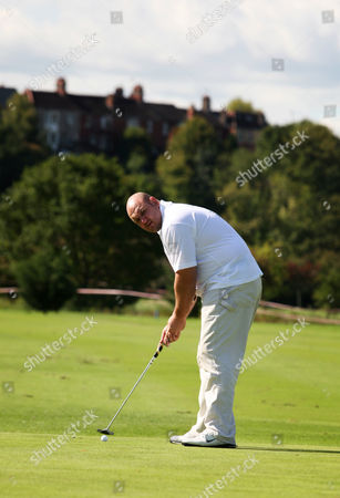 Stock Picture of Ex welsh rugby international Craig Quinnell