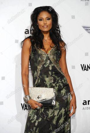 Editorial image of amfAR Milano 2010 Red Carpet, Milan Fashion Week, Milan, Italy - 27 Sep 2010