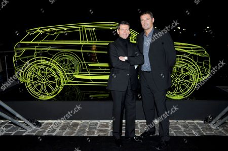 Gerry McGovern (Head of Design) and Phil Popham (Range Rover MD)