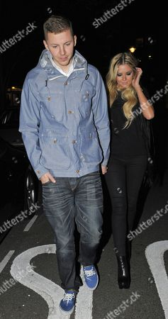 Professor Green with Candy McCulloch